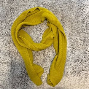 Chartreuse scarf